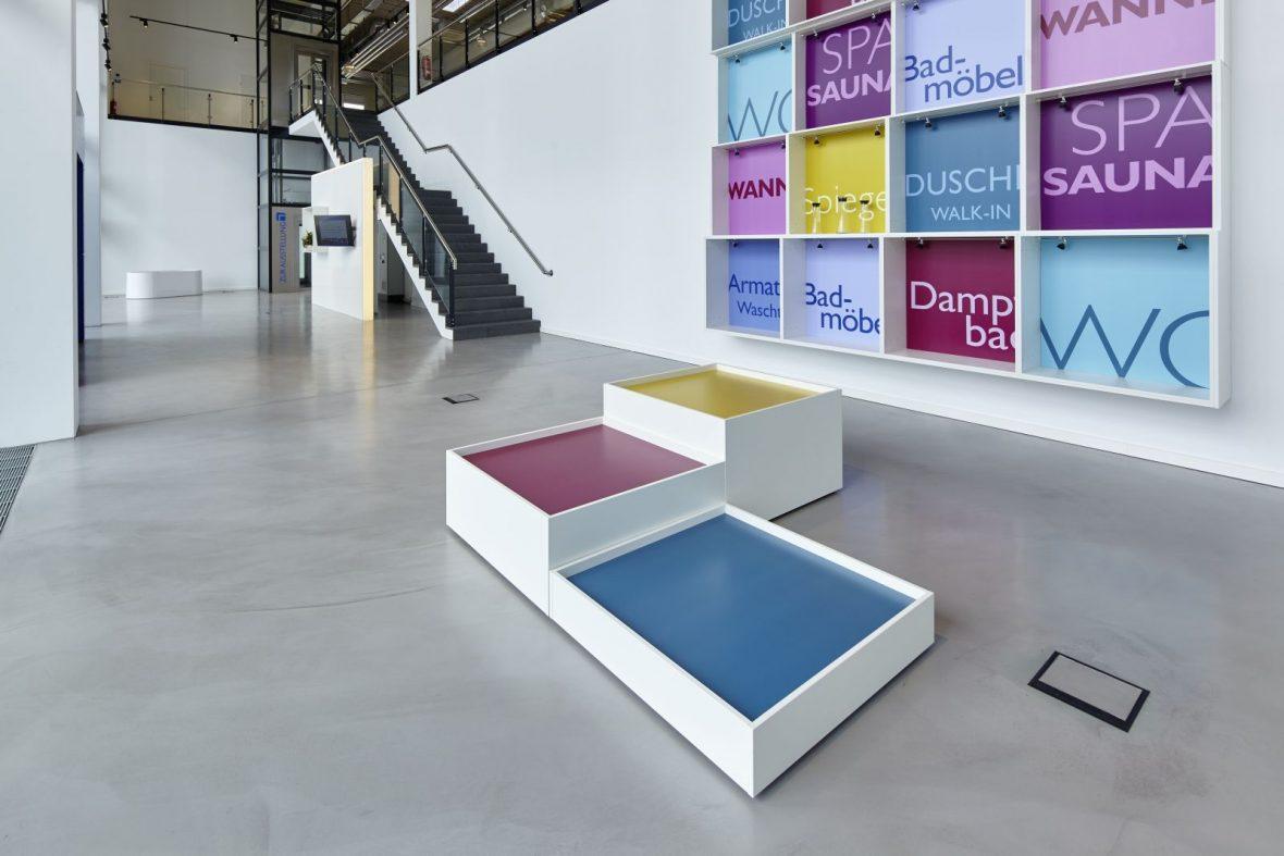 Badausstellung Hannover wiedemann badausstellung hannover designboden fugenlos