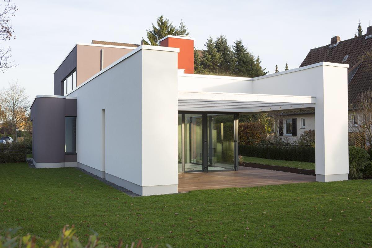 Traumhaftes Wohnhaus - Wärmedämmung an der Fassade