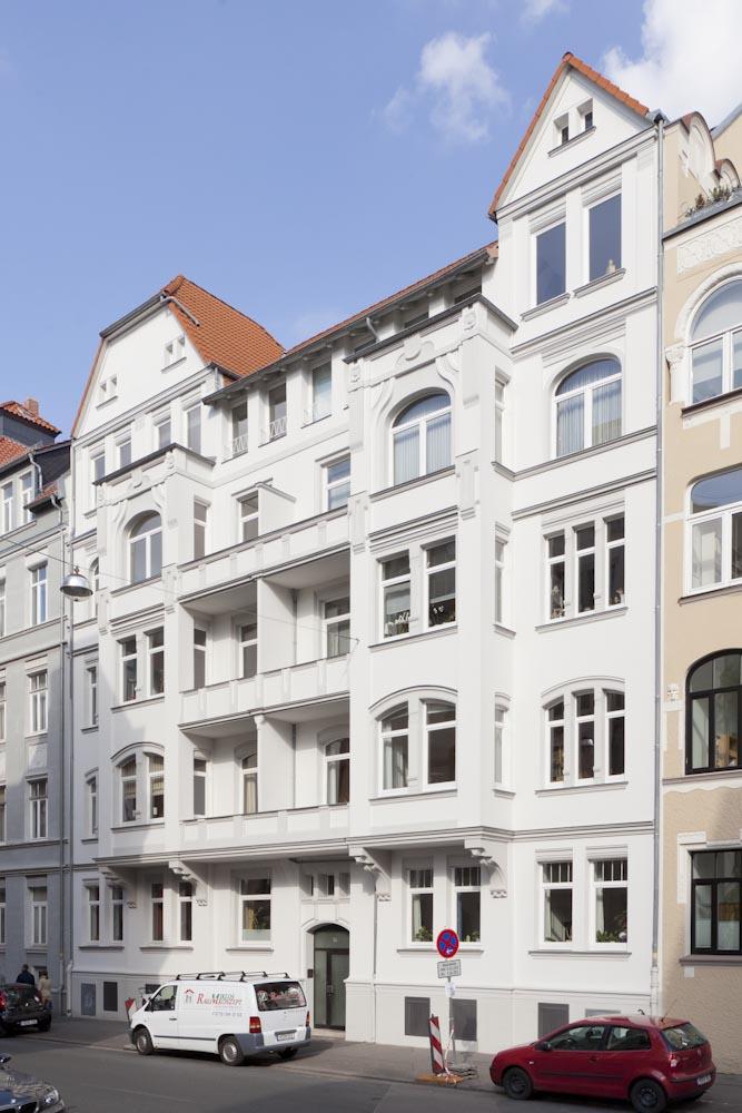 Schwerarmierung Sanierung Fassade
