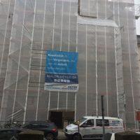 Gerüsteinhausung - Wetterschutz