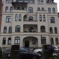 Fassade vorher - Altbestand