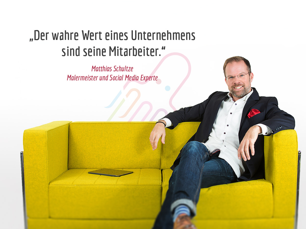 Matthias Schultze Social Media Experte und Malermeister