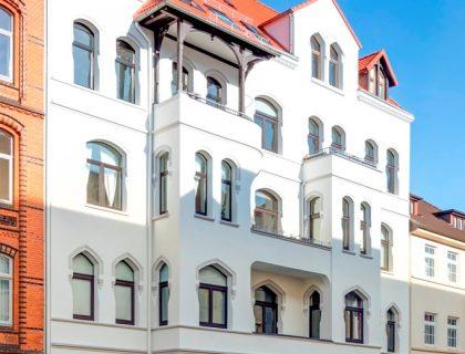 Sanierte Stilfassade Hannover