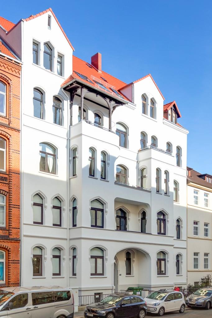 Historische Fassade umfangreich saniert