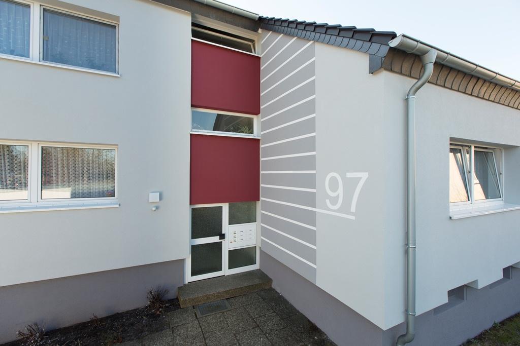 Sanierung Mehrfamilienhaus mit Wärmedämmung