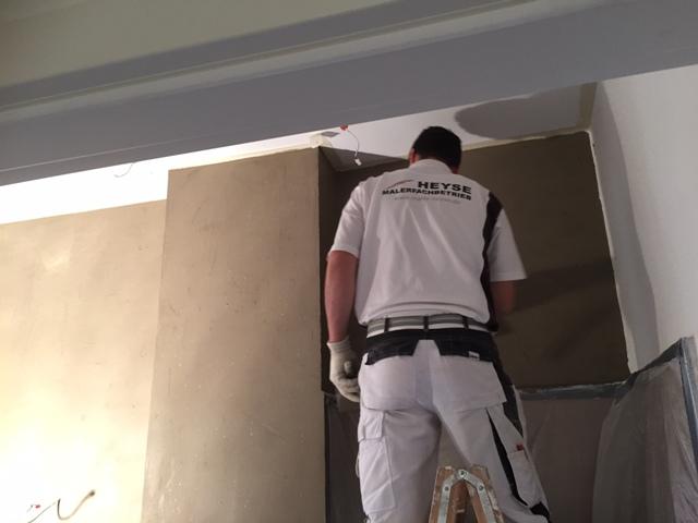 Gesundes Raumklima im Bad – Wände mit Volimea veredelt - Mein-Maler.de