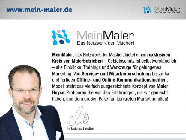 MeinMaler.de - Das Netzwerk der Macher