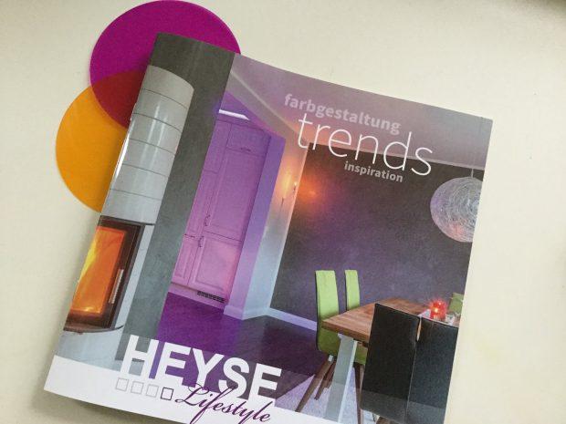 Booklet Heyse Lifestyle fotografiert von Tine Kocourek