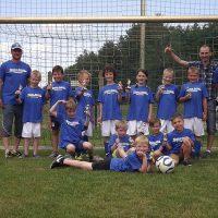 Fläming Malerei - Offizieller Sponsor des TSV Treuenbrietzen - F-Jugend-Mannschaft TSV