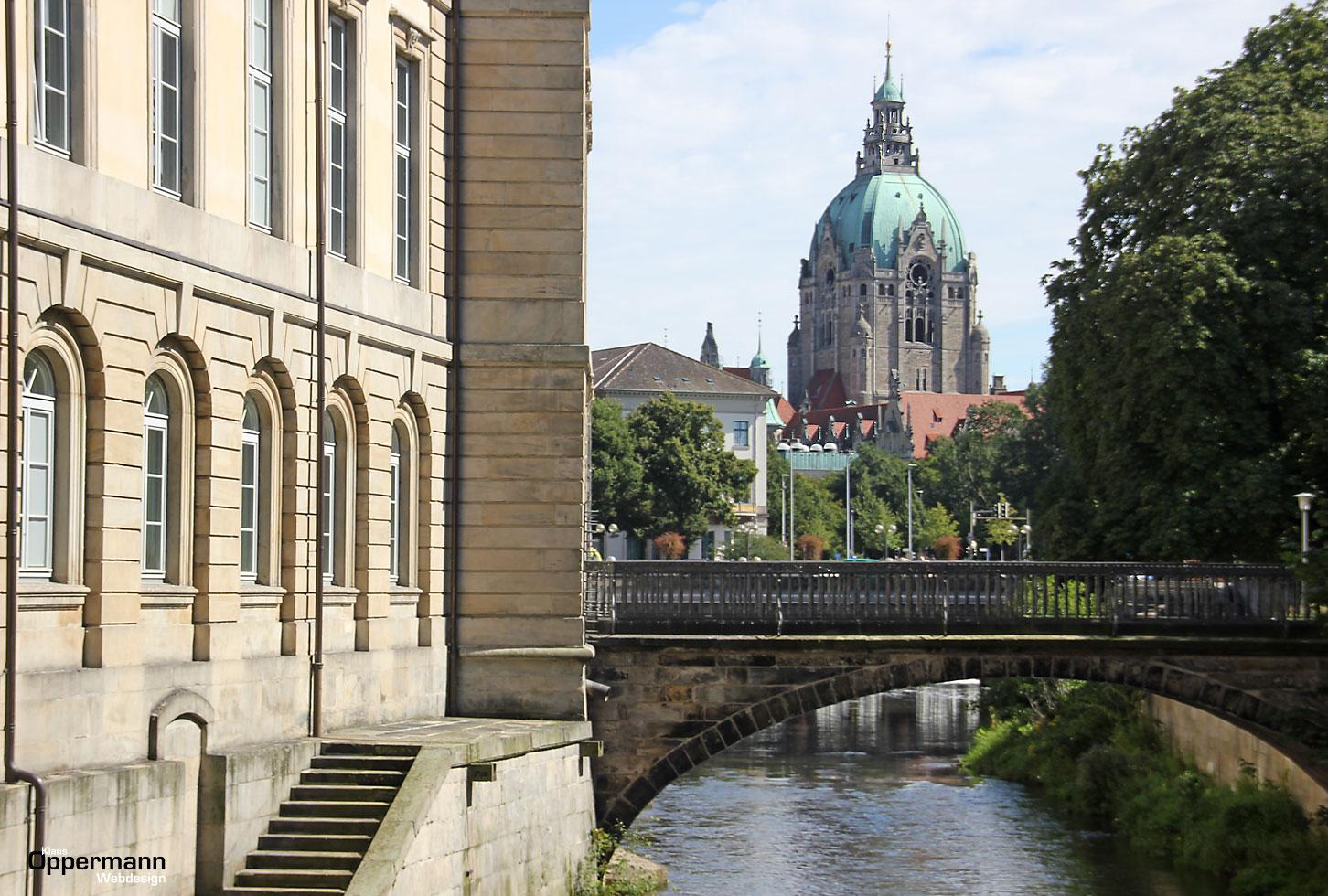 Hannover Leineschloss / Rathaus