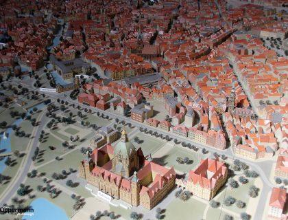 Hannover Stadt-Modell im Rathaus
