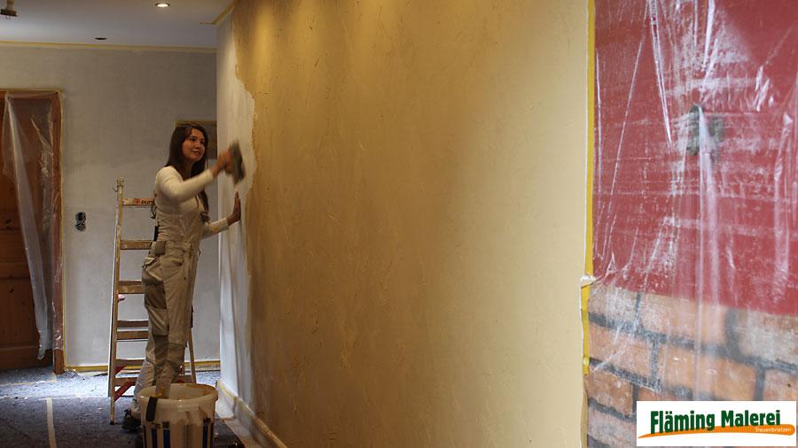 Fläming Malerei Treuenbrietzen   Wandgestaltung Mit Volimea + Kalklasur