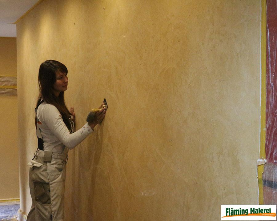 AuBergewohnlich Fläming Malerei Treuenbrietzen Wandgestaltung Mit Volimea + Kalklasur