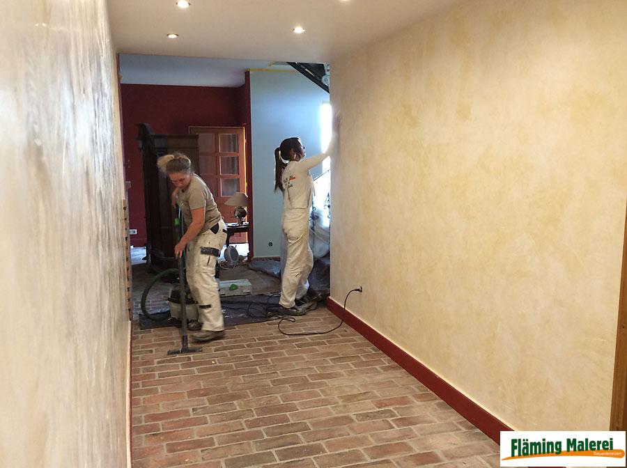 Lieblich Fläming Malerei Treuenbrietzen Wandgestaltung Mit Volimea +  Kalklasur