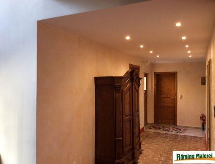 Fläming Malerei Treuenbrietzen - Wandgestaltung mit Volimea + Kalklasur
