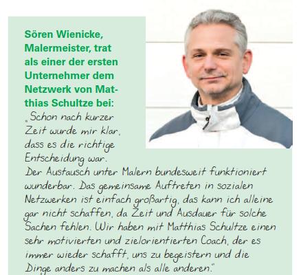 Zitat Wienicke - MeinMaler-Partner