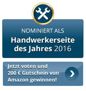 für www.heyse-lifestyle.de auf www.handwerkerseite-des-jahres.de abstimmen