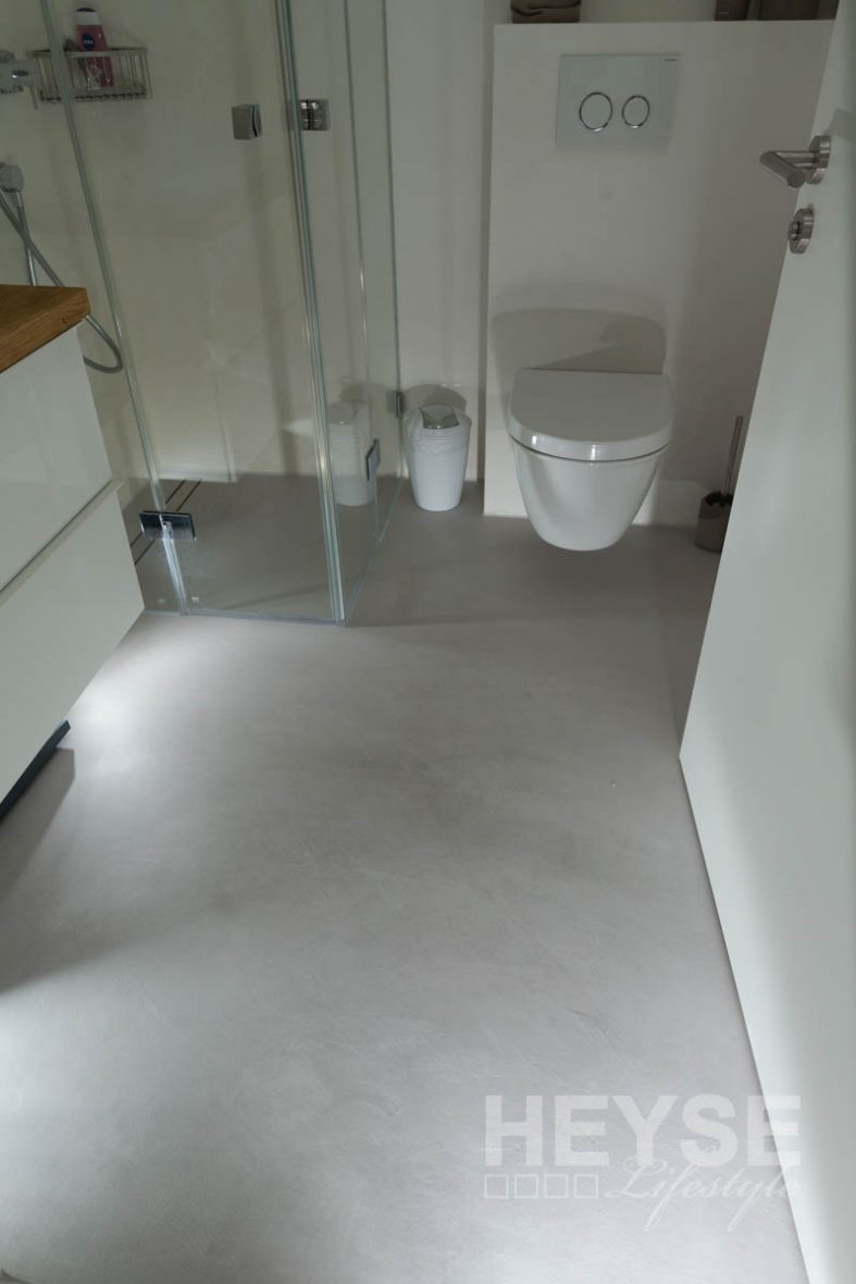 fußboden betonoptik