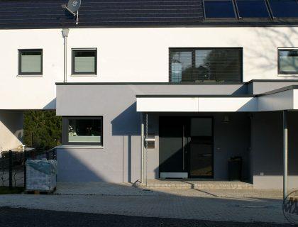Fassadengestaltung Einfamilienwohnhaus Lauterbach Fulda Giessen