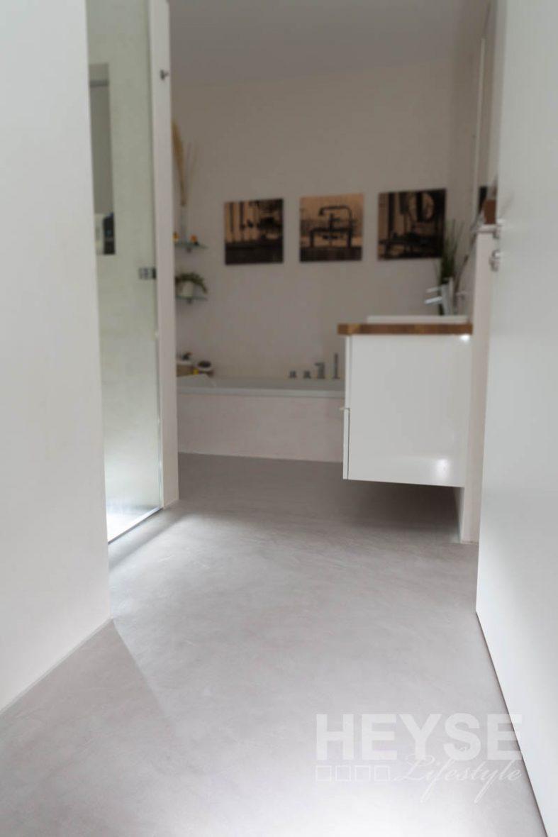 Top Referenz Fugenloser Boden Im Betonlook Mein Maler De