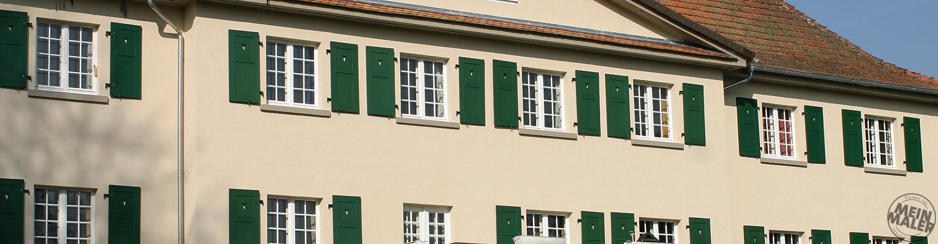 Fassaden / Sanierung Gutsherrenhaus Lauterbach / Fulda / Gießen