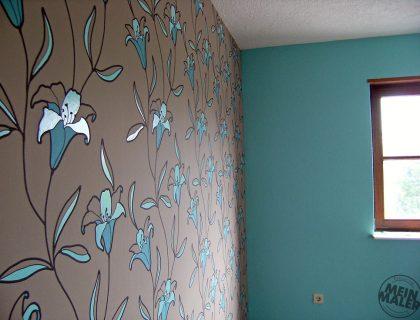 Schlafzimmer Vliestapete Design Mannheim