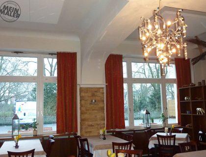 Schlossrestaurant Mannheim: Steinoptik Arenino Spachteltechnik