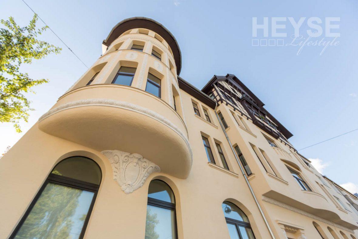 Sanierung Fassade Fachwerk Balkon Und Fenster Mehrfamilienhaus
