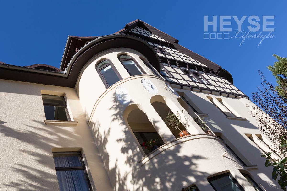 Denkmalschutz - Fassade - Fachwerk - Sanierung -Anstrich