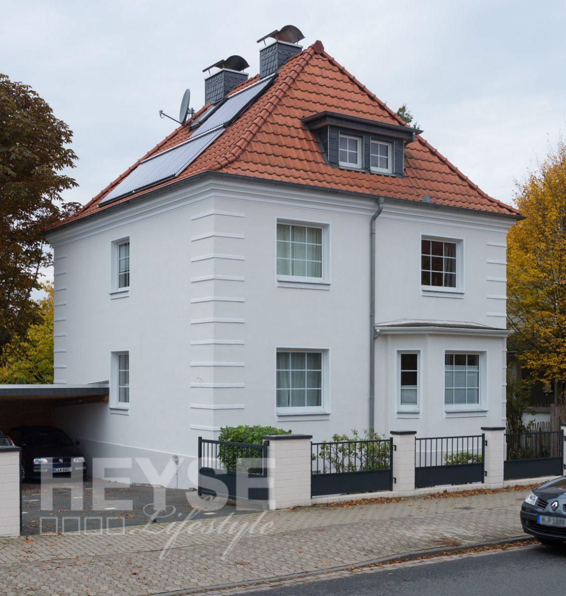 Kaffemuehle Haus Fassade Sanierung Anstrich Hannover Burgdorf8065