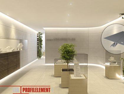 LED Lichtdesign gewerbliche Raumgestaltung