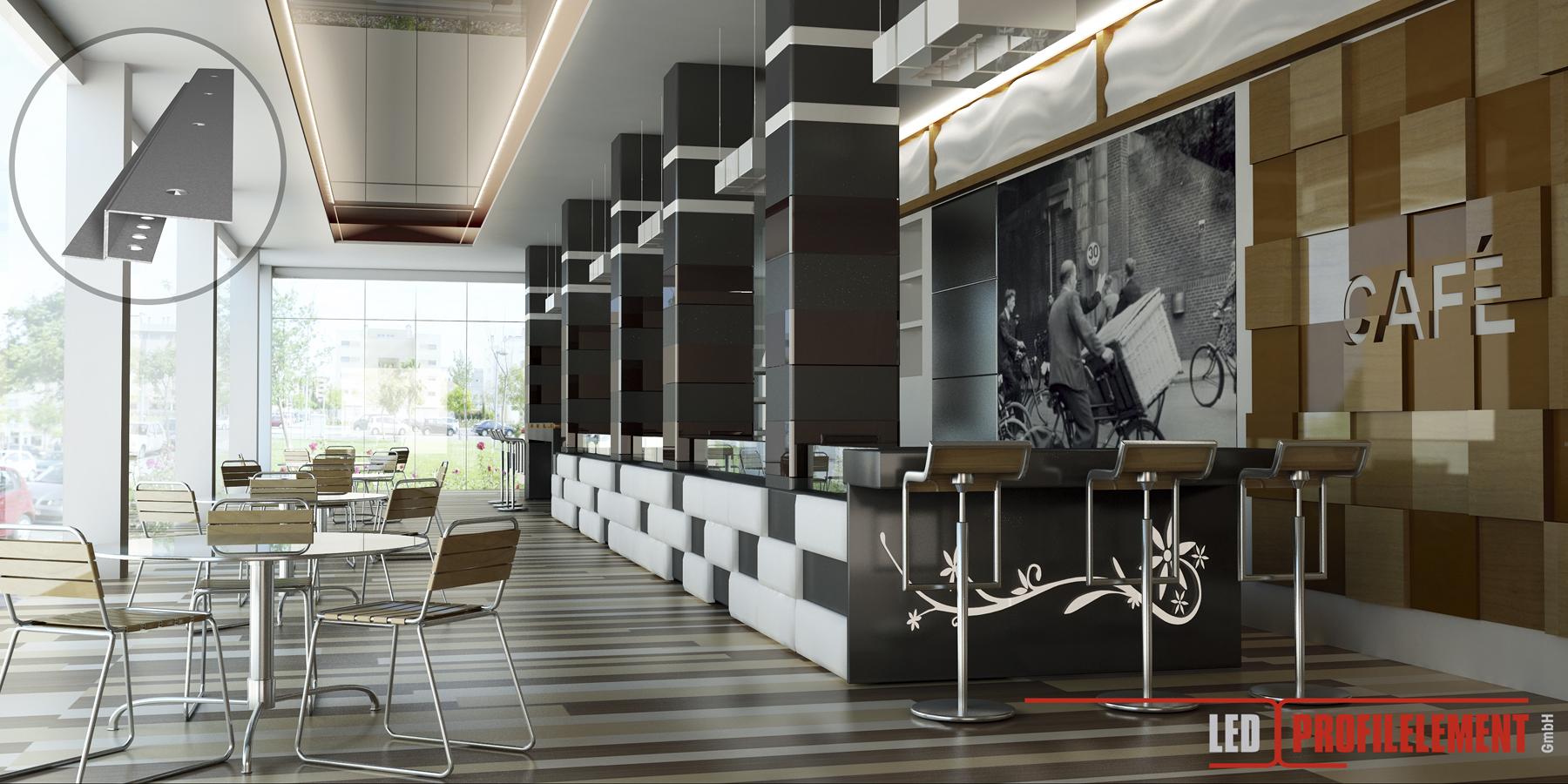 Lichtdesign mit LED Beleuchtungslösungen für Decke, Wände, Böden ...