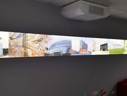 LED Lichtbilder auf Plexiglas