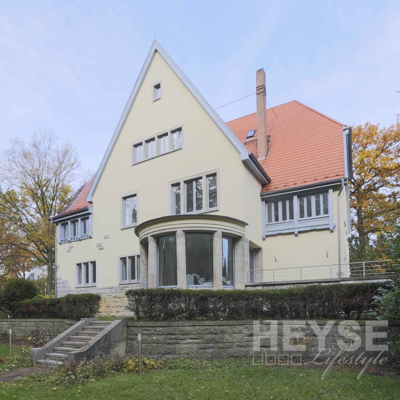 Villa Haase - Denkmalschutz Fassade - Anstrich