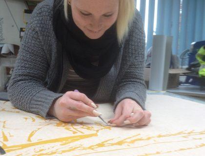 Vorbereitung Wandgestaltung Entgittern Schablone Potsdam Treuenbrietzen Sonderlösung Fresco Volimea Beelitz Bad Belzig Brueck
