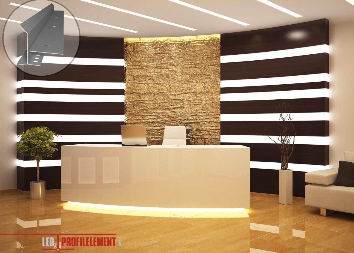 Indirekte Beleuchtung Plexiglas Malerei | Lichtdesign Mit Led Beleuchtungslosungen Fur Decke Wande Boden
