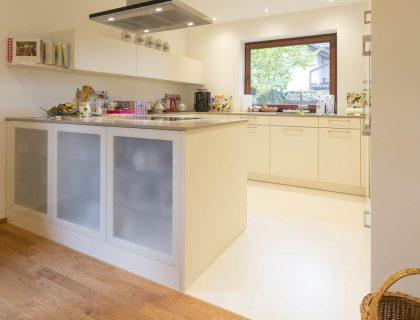Gestaltung Malerarbeiten Küche und Esszimmer