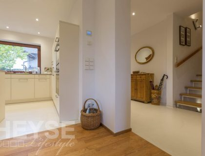 Gestaltung Malerarbeiten Wohnzimmer und Esszimmer