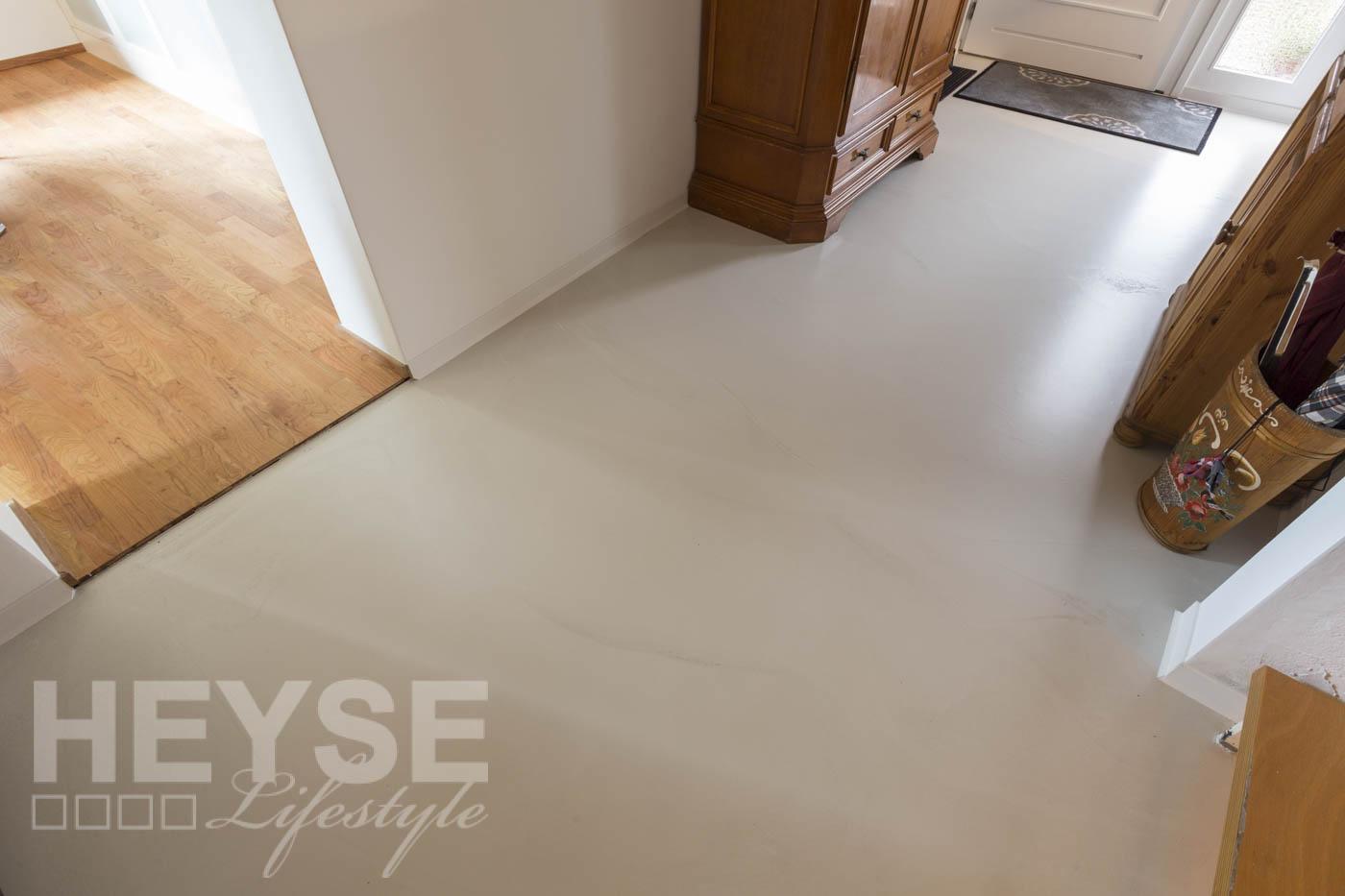 Fußboden Beton Optik ~ Top referenz designboden mit betonoptik u glatte decken und wände