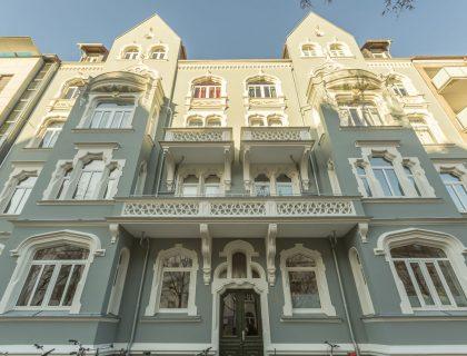 Fassadensanierung Hannover - Stilfassade Stuck Ornamente