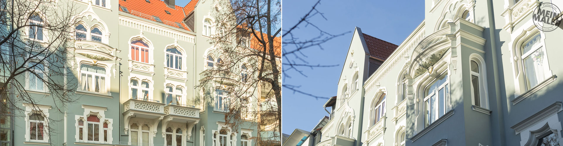 Fassadenrenovierung Stilfassade