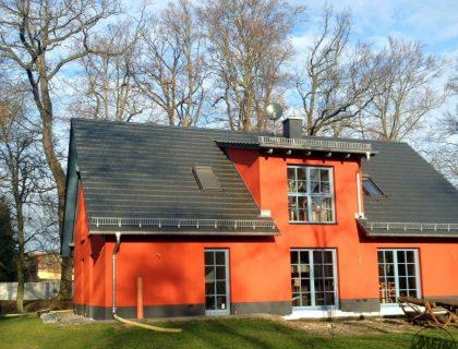 WDVS Sto Classic - Fassadenbeschichtung - Wärmedämmung - XBlack - iQ – Intelligent Technology - Treuenbrietzen- Einfamilienhaus