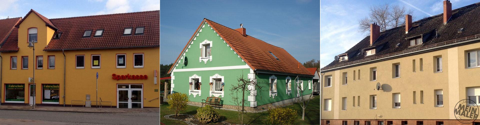 Fläming Malerei Treuenbrietzen / Potsdam Gestaltung von Fassaden