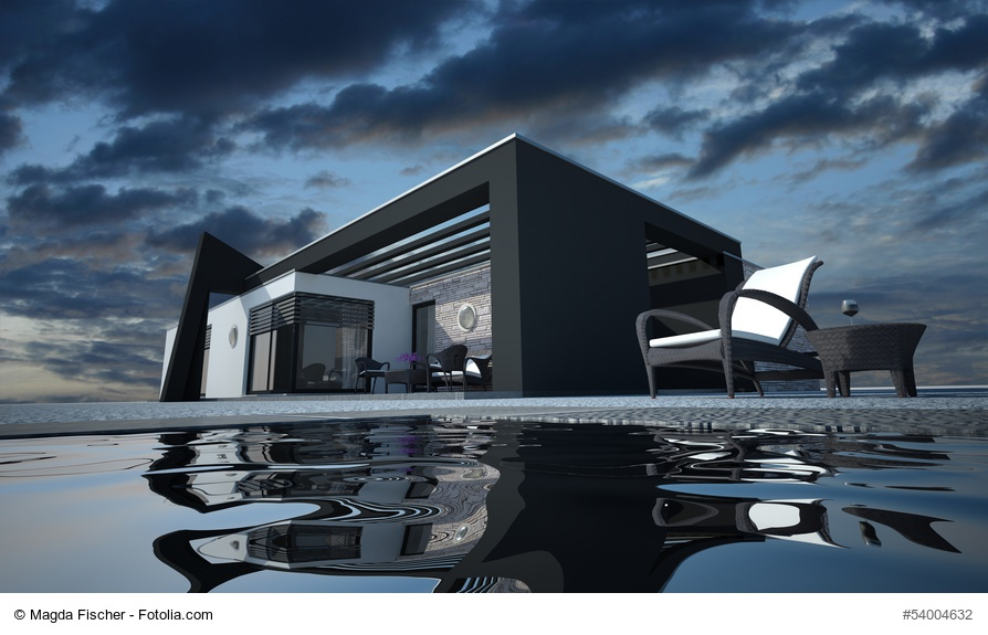 Dunkle Fassaden Liegen Im Trend