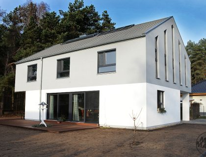 Wärmedämmung Fassade und Malerarbeiten an einem Wohnhaus in Potsdam