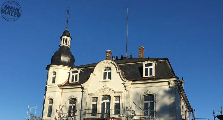 Fassadensanierung / Sandstrahlarbeiten / Denkmalpflege / Alsfeld / Fulda / Gießen