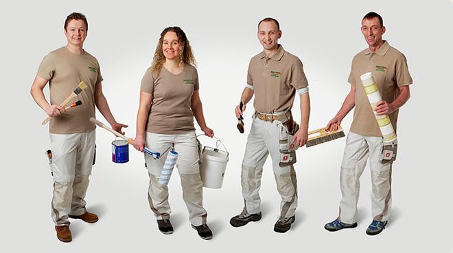Das Team der Fläming Malerei