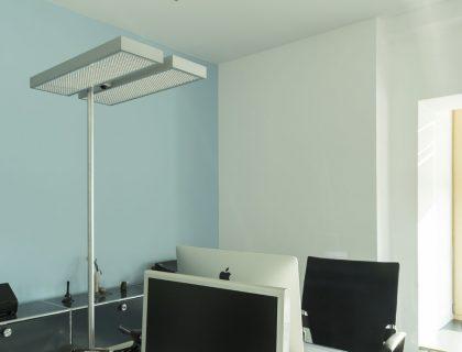 Farbkonzept Bürogestaltung Werbeagentur Hannover