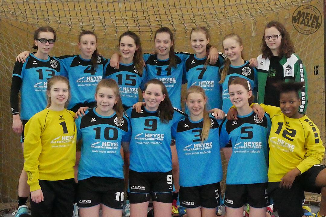 Handball Bothfeld Hannover Damen Jugend Sponsoring MeinMaler Malerarbeiten Heyse