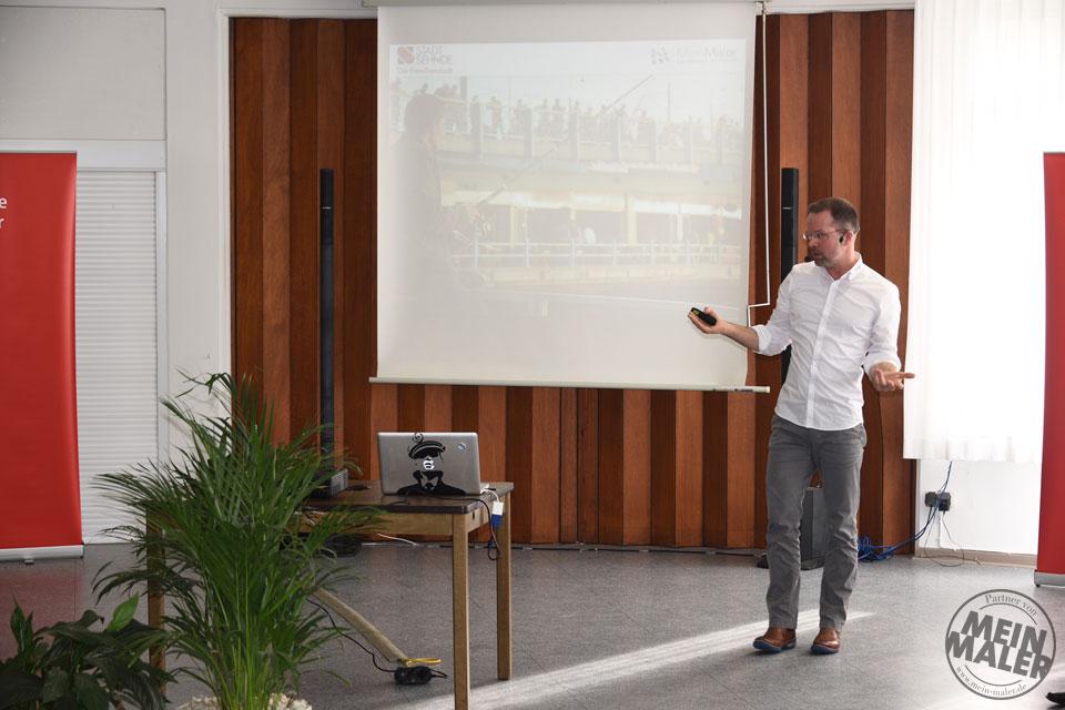 """Impulsvortrag von Matthias Schultze zum Thema """"Digitale Transformation verstehen und neue Wege gehen"""""""